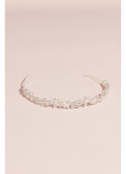 Scrolling Crystal Garland Headband - Wedding Accessories