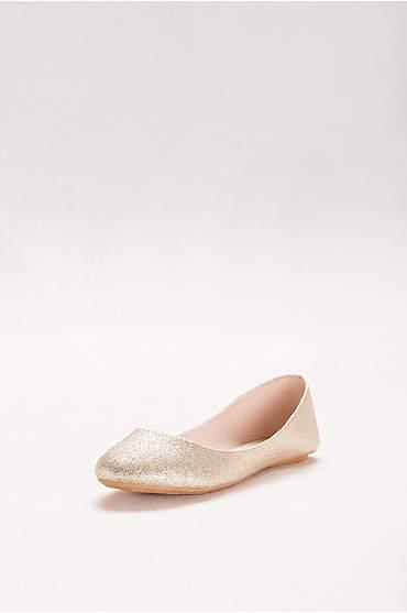 Lustrous Ballet Flats