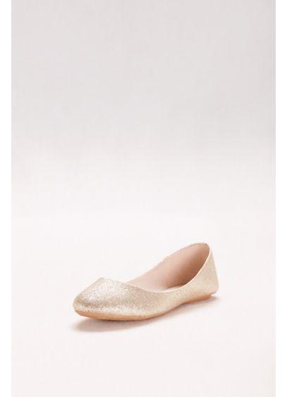 8c4d6fec9d44 Lustrous Ballet Flats | David's Bridal