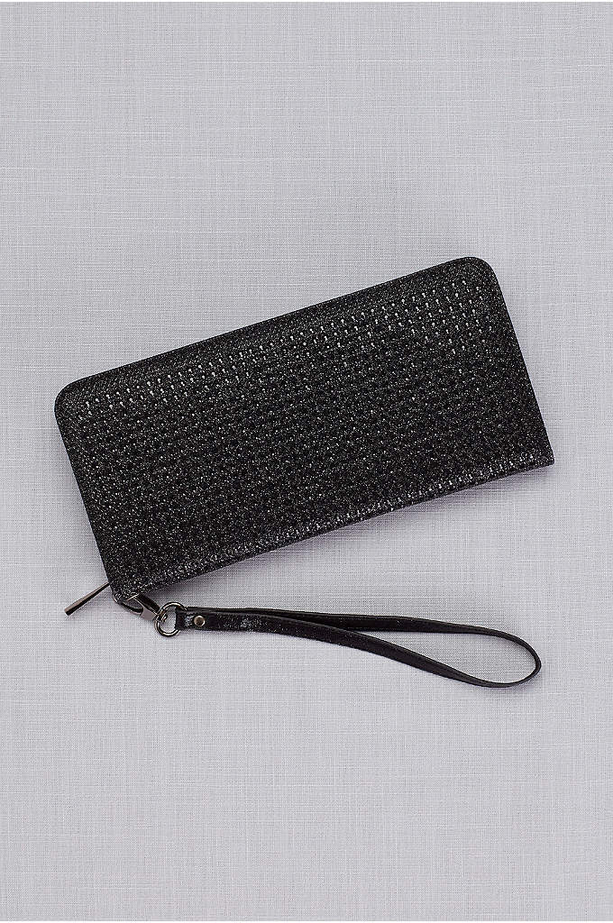 Rhinestone Wristlet Wallet - The perfect teeny bag to hold just the