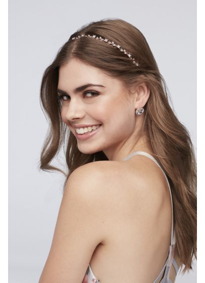 Delicate Crystal Vine Headband - The perfect subtle sparkle for your hairdo, this
