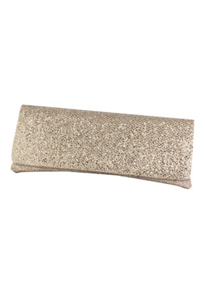 Iridescent Glitter Mesh Envelope Clutch - Wedding Accessories