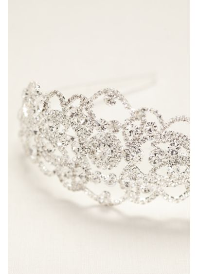 Bold Crystal Headband - Wedding Accessories