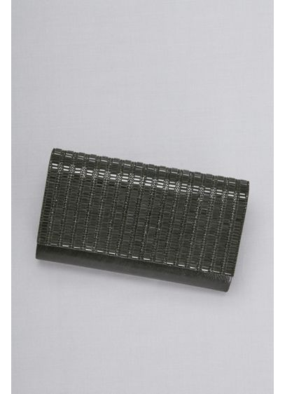 Pave and Baguette Rows Clutch - Wedding Accessories
