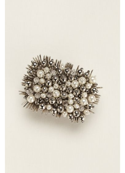 Pearl Bauble and Spike Minaudiere - Wedding Accessories