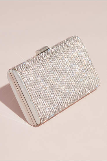 Allover Crystal Minaudiere