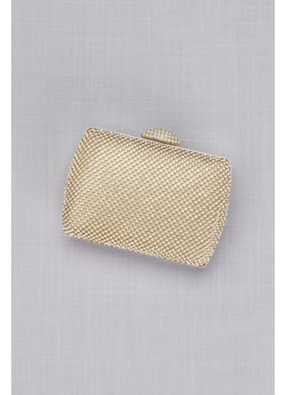 Mesh Stones Box Minaudiere - Wedding Accessories