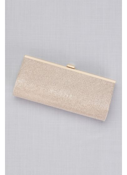 Gem-Closure Glitter Clutch - Wedding Accessories