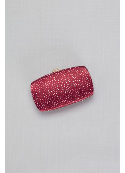 Scattered Crystals Minaudiere - Small in size but big on glam, this