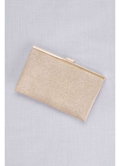Allover Glitter Metallic Clutch - Wedding Accessories