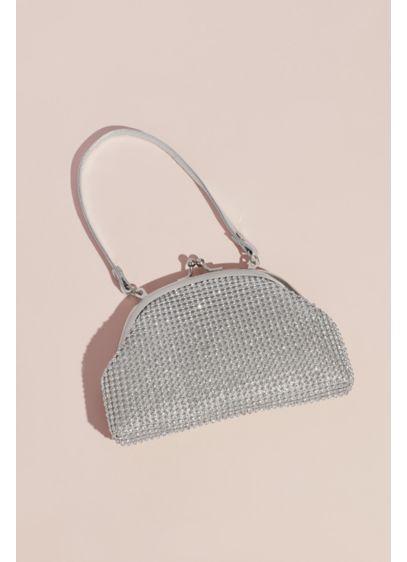 Crystal Mesh Soft Flower Girl Bag - Wedding Accessories