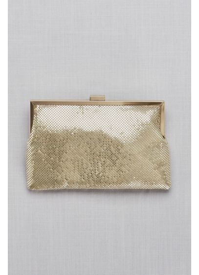 Metallic Mesh Clutch - Wedding Accessories