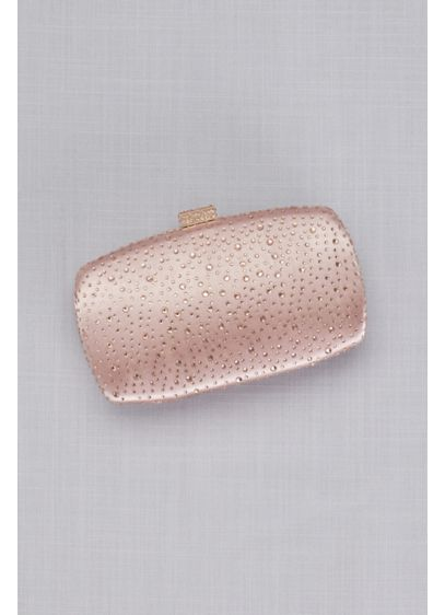 Scattered Tonal Crystals Minaudiere - Wedding Accessories