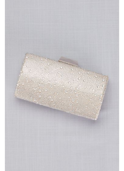 La Regale Crystal Hard-Sided Clutch - Wedding Accessories