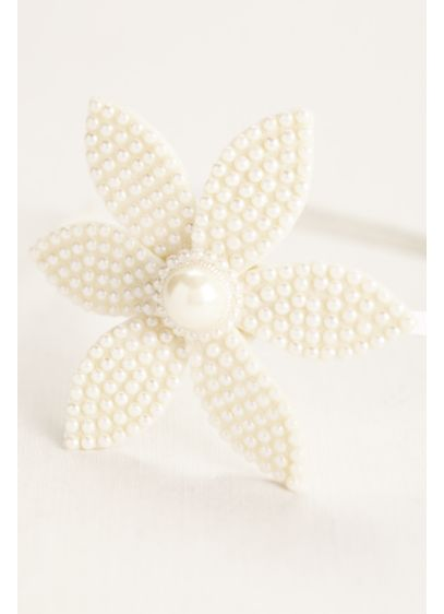 Mini Pearl and Petal Flower Headband - Wedding Accessories