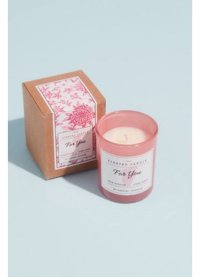 Only For You Soy Candle - Set the mood and relax with this beautiful