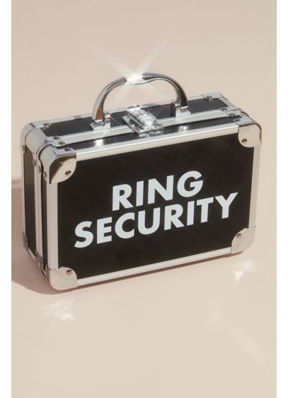 Ring Security Ring Bearer Briefcase - Wedding Gifts & Decorations