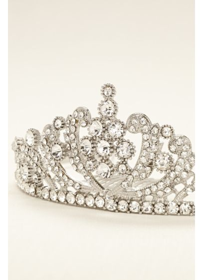 Scroll Work Tiara - Wedding Accessories