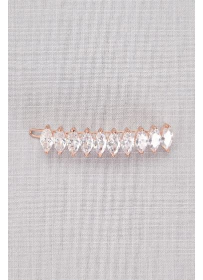 Marquise Cubic Zirconia Barrette - Wedding Accessories