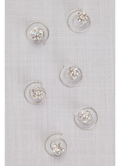 Floral Spin Pin Set - Wedding Accessories