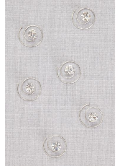 Solitaire Spin Pin Set - Wedding Accessories