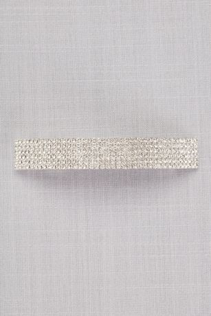 Crystal Rows Barrette | David's Bridal | Tuggl