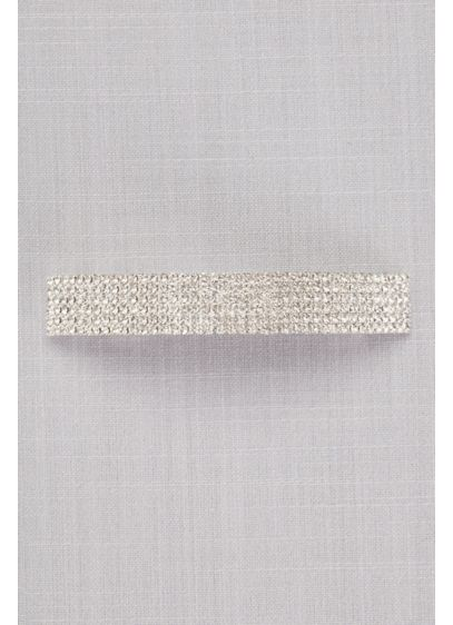 Crystal Rows Barrette - Wedding Accessories