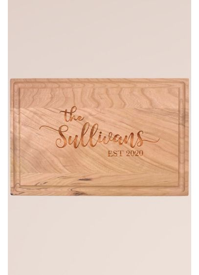 Personalized Wood Cutting Board - Wedding Gifts & Decorations