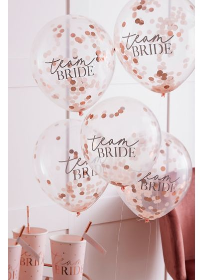 Pink (Team Bride Confetti Balloons)