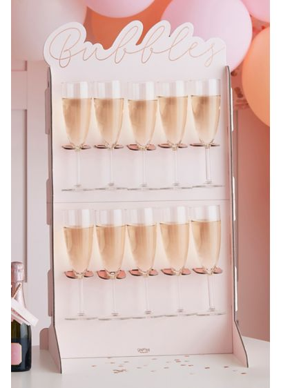Bubbles Prosecco Wall Set - Watch your guests' faces light up when they