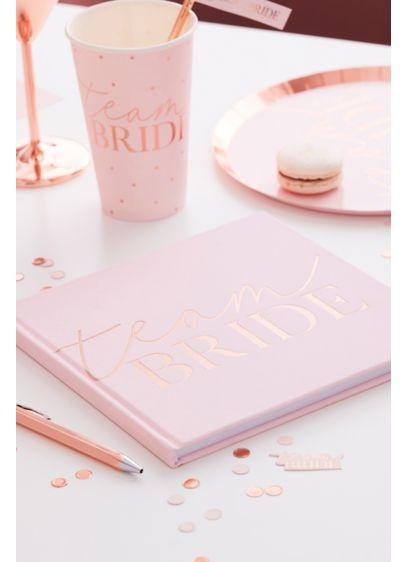 Pink (Team Bride Velvet Guest Book)