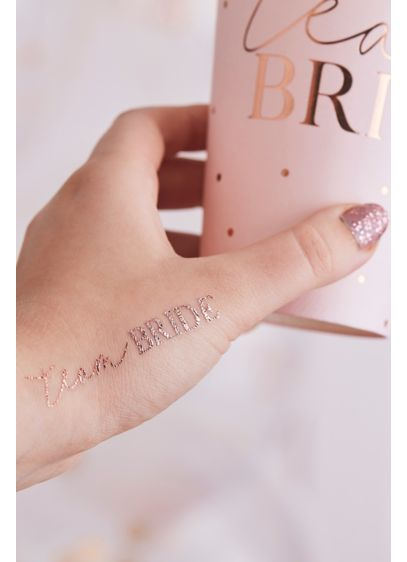 Team Bride Temporary Tattoos - Wedding Gifts & Decorations