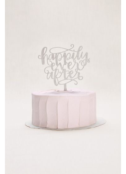 Happily Ever After Cake Topper - Wedding Gifts & Decorations
