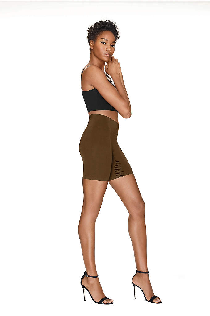 Hanes Perfect Bodywear Seamless Short - These seamless shapewear shorts are designed with freedom