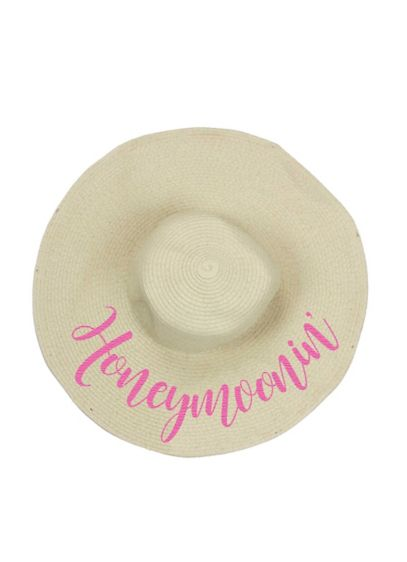 Honeymoonin Floppy Sun Hat - Get your camera ready! This hat would make