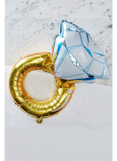 Foil Ring Balloon - Wedding Gifts & Decorations