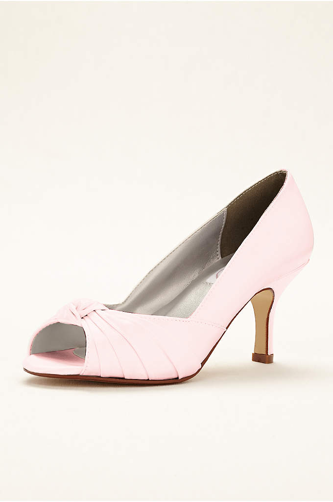 Ida Dyeable Peep Toe Pump
