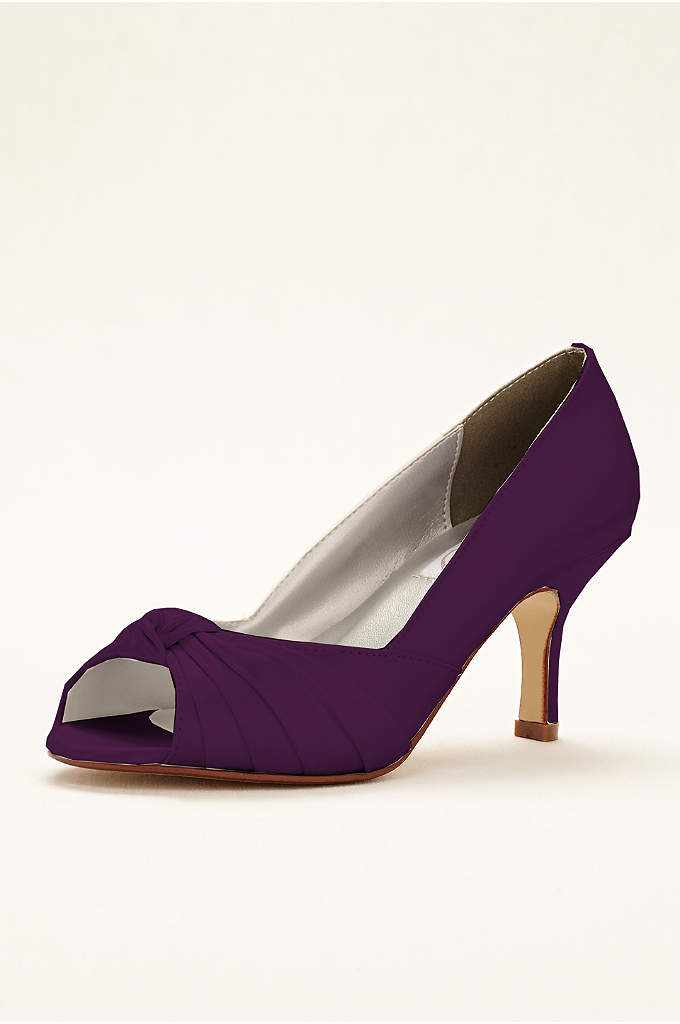 Ida Dyeable Peep Toe Pump - Ida is a dyeable peep toe pump features