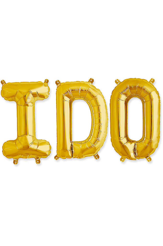 I Do 16 Inch Balloon Kit - Balloons are a perfect decoration for the day
