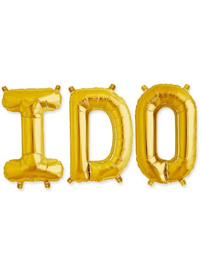 I Do 16 Inch Balloon Kit - Wedding Gifts & Decorations