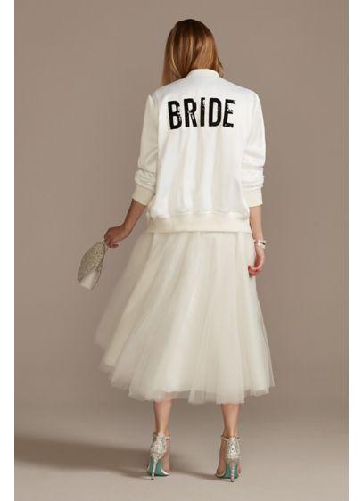 Sequin Bride Bomber Jacket - Wedding Gifts & Decorations