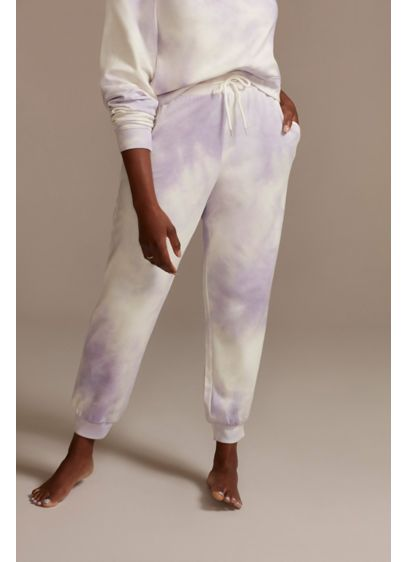 Lavender Tie-Dye Sweatpants - Look cute, cool, and comfy in these tie-dye