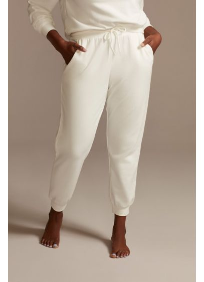 Ivory Sweatpants - Look cute, cool, and comfy in these ivory