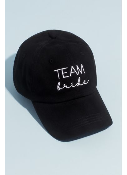 Canvas Embroidered Team Bride Baseball Cap - Throw on this embroidered