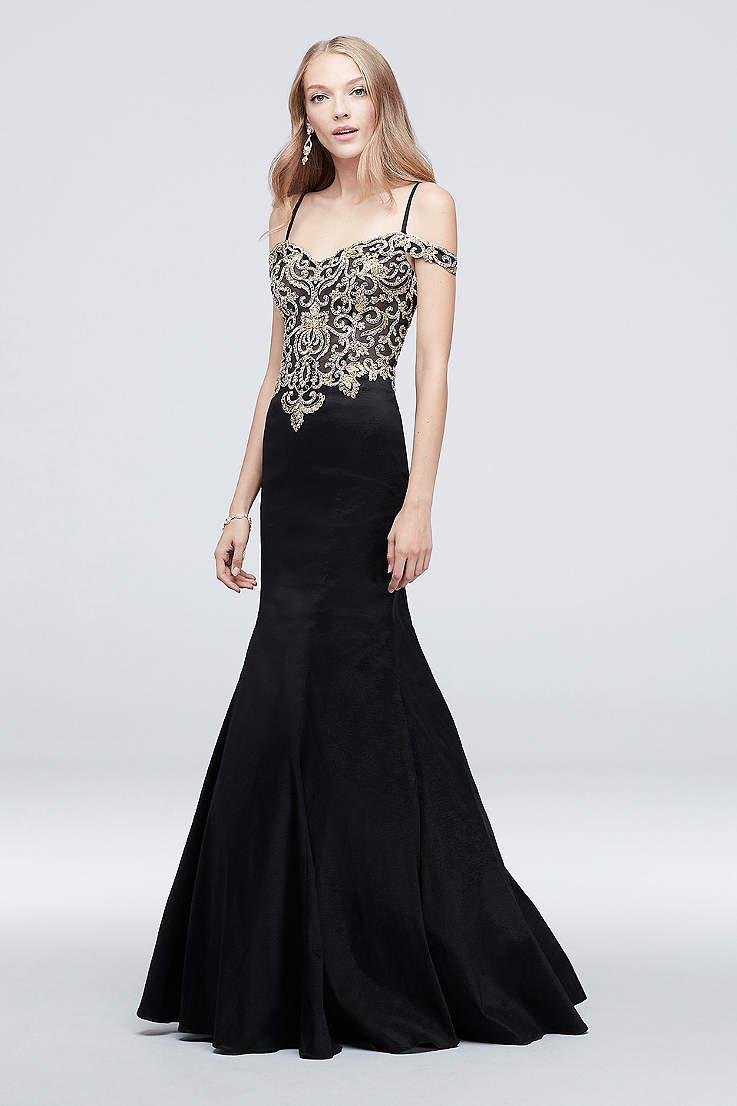 13934249fbfa Long Mermaid/ Trumpet Off the Shoulder Dress - J By Jovani