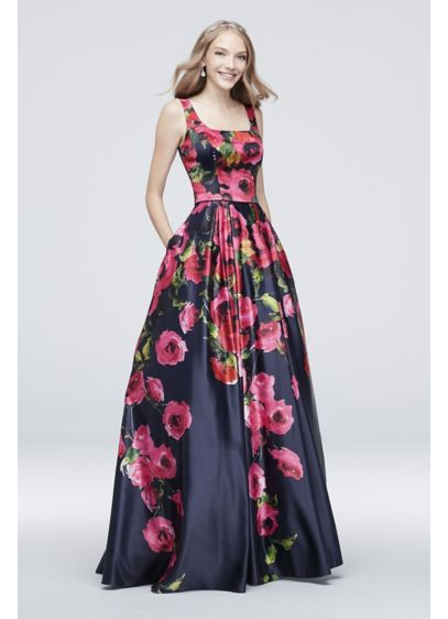 Long Ballgown Tank Cocktail and Party Dress - J By Jovani