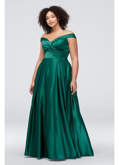 79a9a6b8d9 Long Ballgown Off the Shoulder Cocktail and Party Dress - J By Jovani