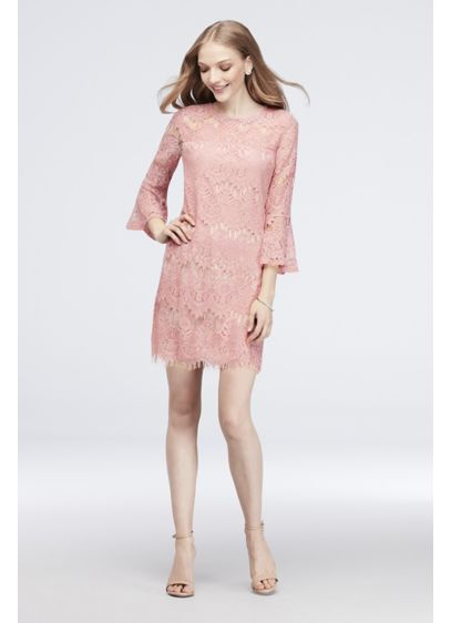Short Sheath Long Sleeves Cocktail and Party Dress - Speechless
