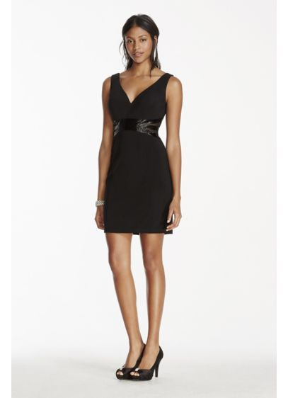 Short Sheath Tank Cocktail and Party Dress - Patra