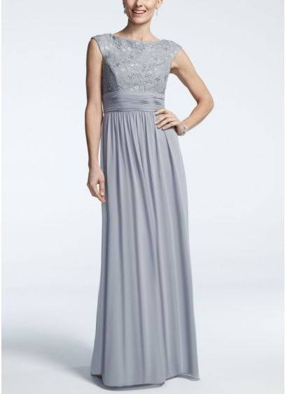 Long Sheath 3/4 Sleeves Cocktail and Party Dress - Jessica Howard